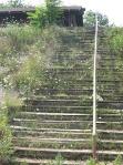 Unused stairs