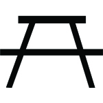 symbol picnic table
