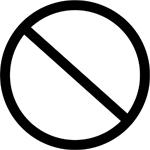 symbol prohibit