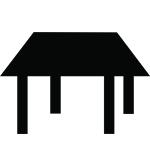 symbol shelter picnic shelter