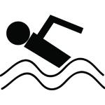symbol swimming