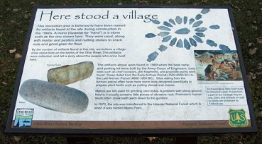 Informational sign
