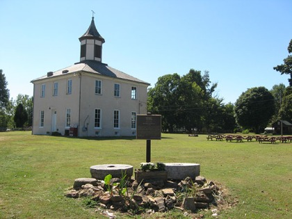 Old Perry County courthouse, 1819