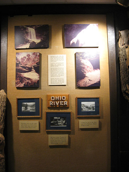 Ohio River display