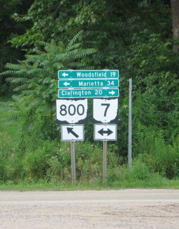 entering Ohio