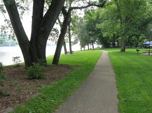 riverfront path