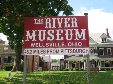 sign visible from river