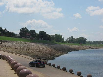 upstream view