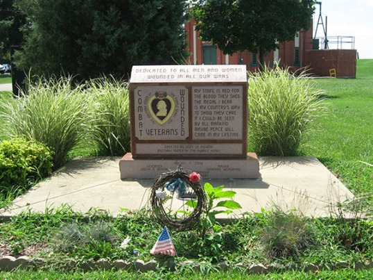 wounded veterans memorial
