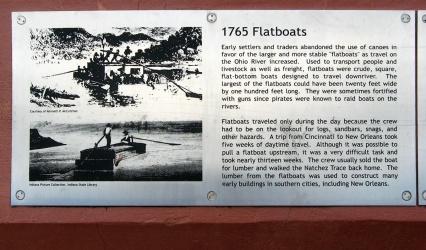 1765 flatboats