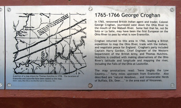 1767 mapping the Ohio River