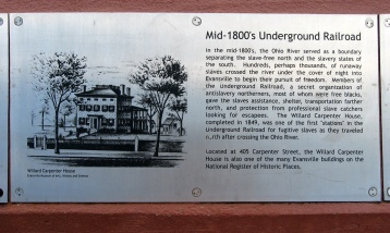 1800s underground railroad