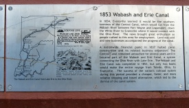 1853 Wabash and Erie Canal