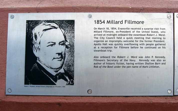 1854 Millard Fillmore