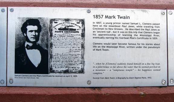 1857 Mark Twain