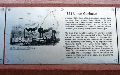 1861 Union gunboats