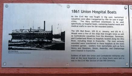 1861 Union hospital boats