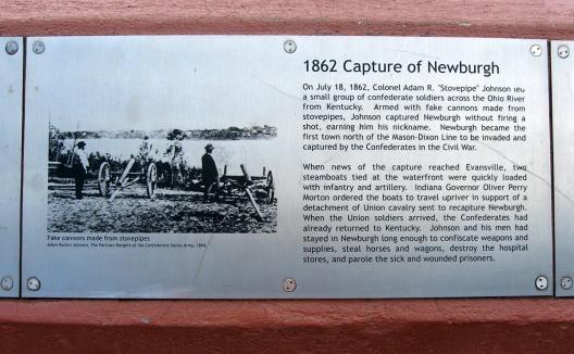 1862 capture of Newburgh