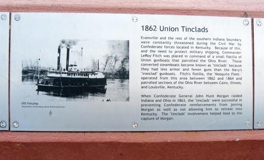 1862 Union tinclads