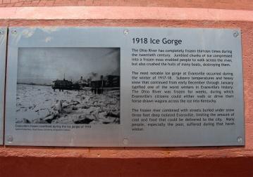 1918 ice gorge