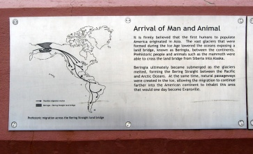 arrival of humans in North America