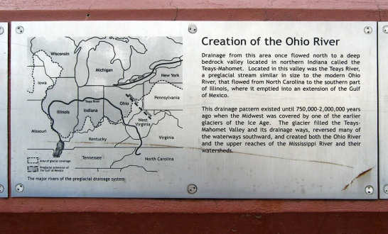 creation of the Ohio River