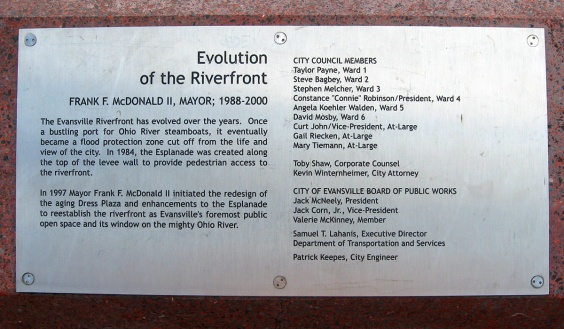 evolution of the riverfront