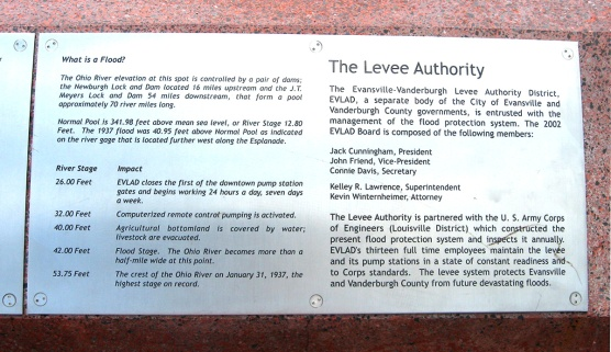 levee authority flood stage