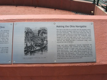 making the Ohio navigable