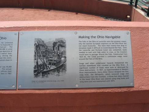 making the Ohio navigable