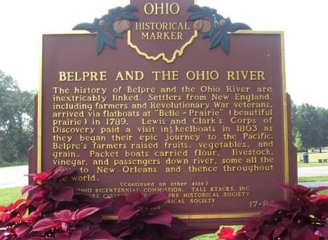 historical marker front