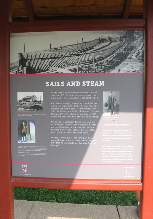 sails and steam