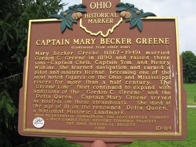 Captain Mary Becker Greene