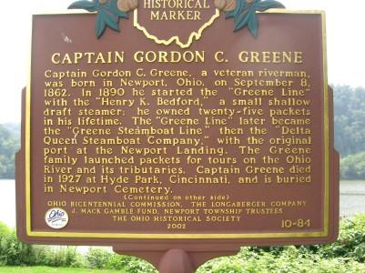Captain Gordon C Greene