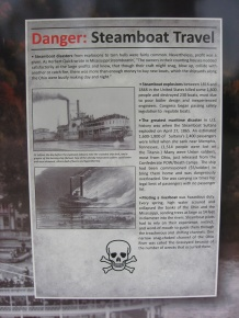 the dangers of steamboat travel
