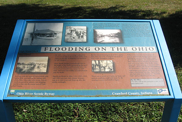 flooding on the Ohio