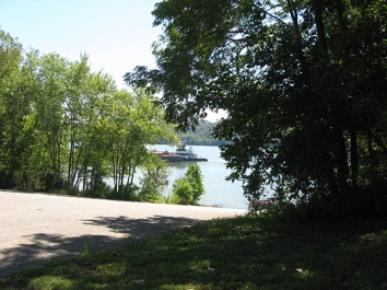 boat launch and barge