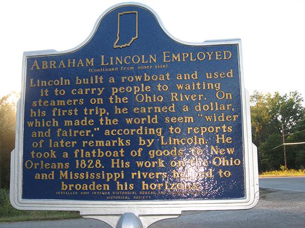 historic marker back