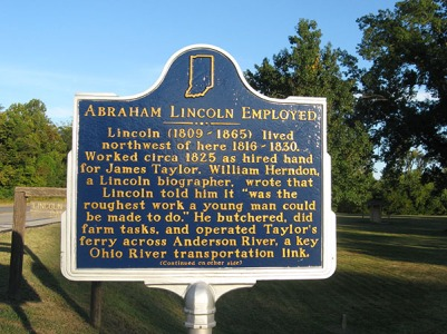 historic marker front