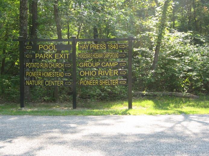 Ohio River that way