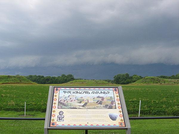 928 IL Massac Kincaid Mounds mounds 600 8 high